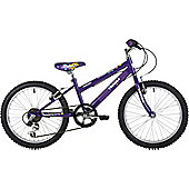 "Freespirit Trouble 20"" Wheel Junior Mountain Bike Purple"