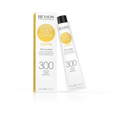 Revlon Professional Nutri Color 300 Yellow Crème Tube 100ml