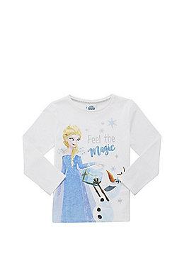 Disney Olaf's Frozen Adventure Long Sleeve T-Shirt - White