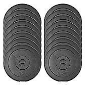 JLL Vinyl Weight Plates - 16 x 1.25kg (20kg)
