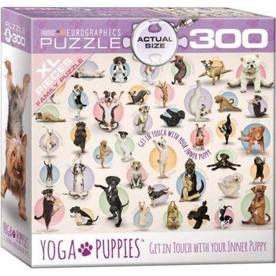 Yoga Puppies - 300XXLpc Puzzle
