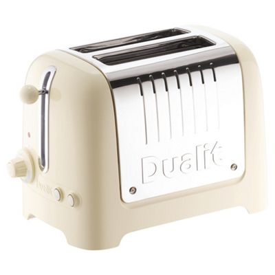 Dualit 26202 2 Slice Lite Toaster - Gloss Cream