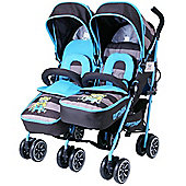 iSafe Twin OPTIMUM Stroller (i DiD iT)