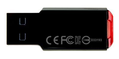 Transcend JetFlash 310 32GB USB 2.0 Type-A Black flash drive