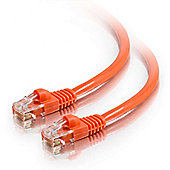 Cables to Go Shielded Cat5e Snagless Patch Cable - Red