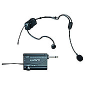 KAM KWM1900 UHF Headset Radio Mic Kit
