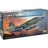Italeri F-104C Starfighter 2504 1:32 Aircraft Model Kit