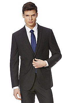 F&F Slim Fit Suit Jacket - Charcoal