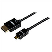 StarTech 5m (15ft) Active High Speed HDMI Cable - to Micro M/M