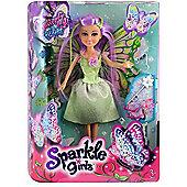 Sparkle Girlz Butterfly Fairy Doll - Green