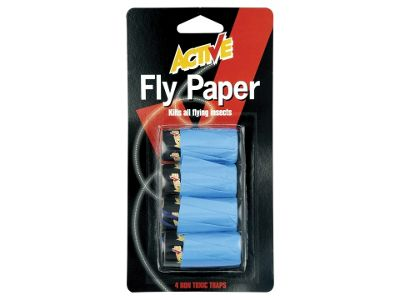 Secto 9082 Active Flypapers X4
