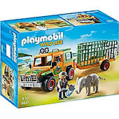 Playmobil 6937 Rangers truck with Elephant