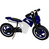 Kiddimoto Scrambler (Blue/Black/White)