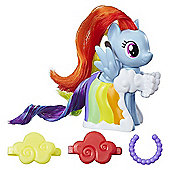 My Little Pony Runway Fashions - Rainbow Dash