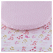 Tesco Bunny 2pk Moses Basket Sheets