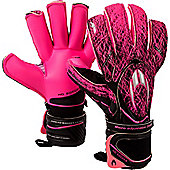 ho Ghotta Infinity Ergo Roll Junior Goalkeeper Gloves - Black
