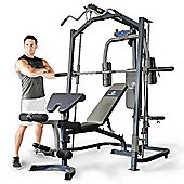 Marcy MP3100 Home Gym Smith Machine with Weight Bench