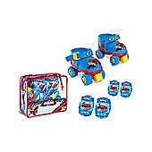 Spiderman Roller Skates Set