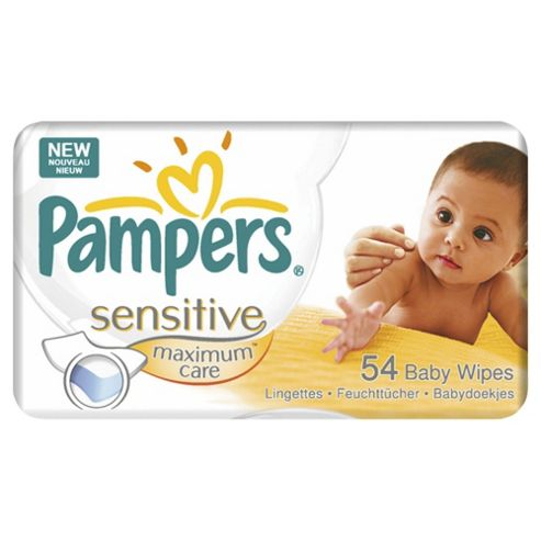 Pampers Sensitivmaxcare Wipes Refill 54