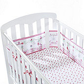 BreathableBaby 4 Sided Mesh Cot Liner English Garden