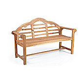 Hardwood Country Wooden Garden Bench - 5ft long (1.6 Metres)