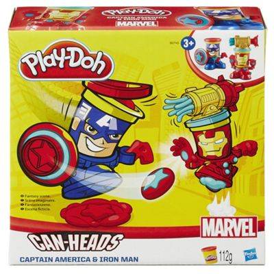 Play-Doh Marvel Canheads