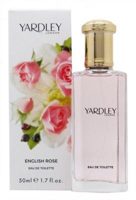 Yardley English Rose Eau de Toilette (EDT) 50ml Spray For Women