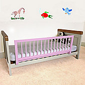 Safetots Wooden Bed Rail Pink