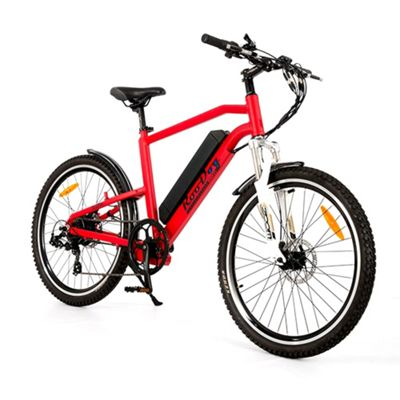 Roodog Striker 10Ah Electric Mountain Bike Red