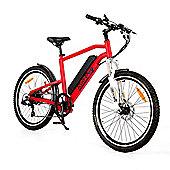 Roodog Striker 10Ah Electric Mountain Bike Red