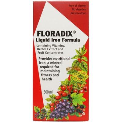 Salus Haus Floradix Iron Formula 500ml Liquid