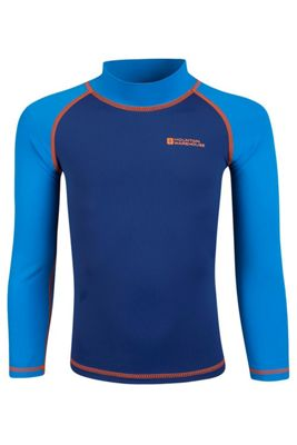 Mountain Warehouse Kids Long Sleeved Rash Vest ( Size: 5-6 yrs )