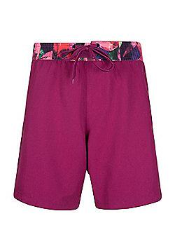 Mountain Warehouse Long Womens Boardshorts - Red