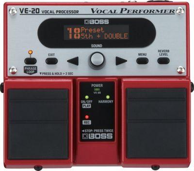 Boss VE-20 Vocal Performer Pedal