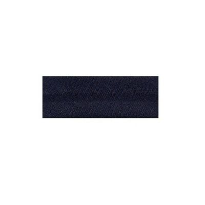 Essential Trimmings Seam Binding 2.5m x 25mm Navy