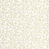 Superfresco Boho Green Leaf Print Wallpaper
