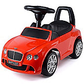 Bentley Continental GT Speed Ride-On Car Toy - Red
