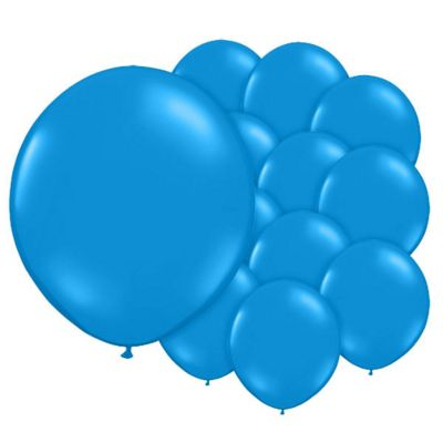 Gentian Blue 5 inch Latex Balloons - 100 Pack