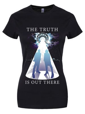 The Truth Is Out There Women's T-shirt, Black.