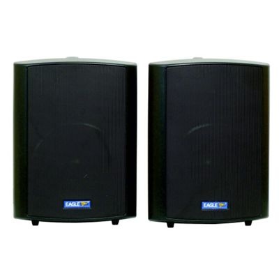 Eagle 100V Line 60W Background Music Speakers Black