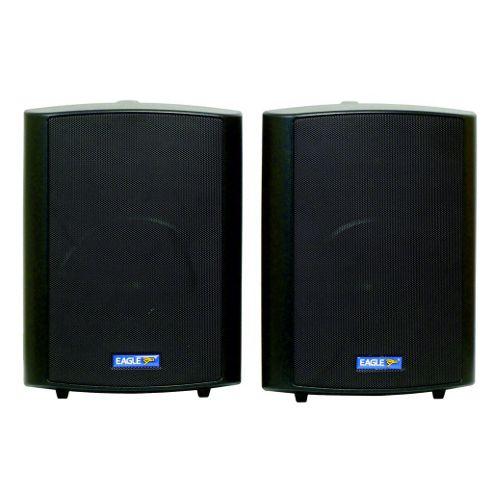 Eagle 100V Line 60W Background Music Speakers Black