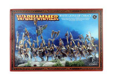 Warhammer High Elf White Lions of Chrace Model Kit
