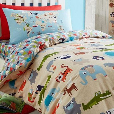 Catherine Lansfield Animal Kingdom Single Duvet Set