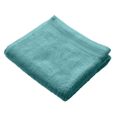 Homescapes Teal Luxury Hand Towel 500 GSM 100% Egyptian Cotton, 50 x 90 cm