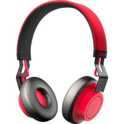 Jabra Move Head-band Binaural Wired Red mobile headset