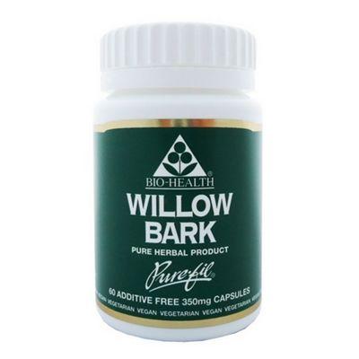 Bio Health Willow Bark 60 Veg Capsules