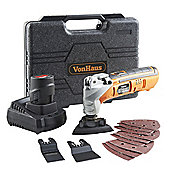 VonHaus 13pc 12V Li-Ion Power Cordless Multitool