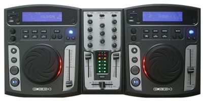 Clarity Homemix CD MP3 USB SD Card DJ Mixer - Black