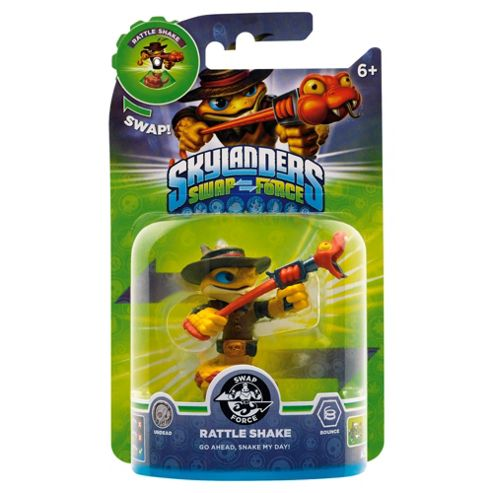 Skylanders Swap Force Character : Rattle Snake