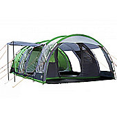 Regatta 6-Man Vanern Outdoor Family Tunnel Tent, Green